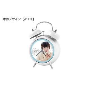 【期間限定 予約販売】オリジナルボイス目覚まし時計(WHITE)
